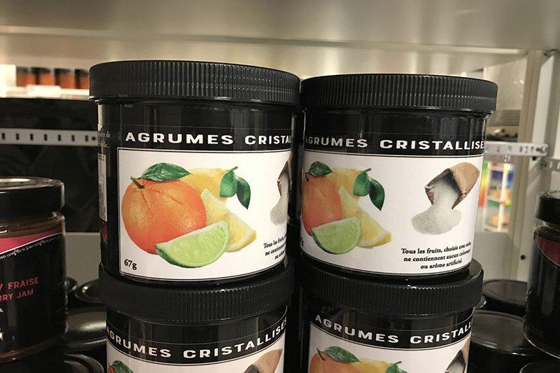 agrumes cristalises