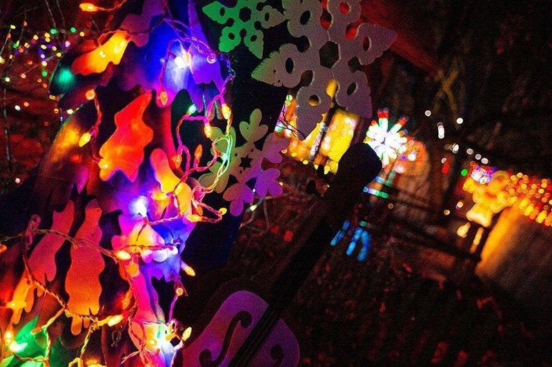 decoration en lumieres